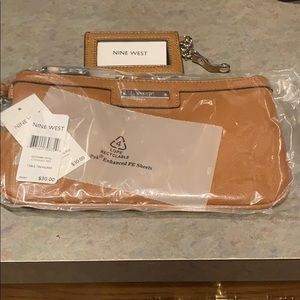 Nine West clutch purse with cardholder new w/ tags